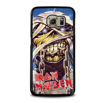 iron maiden samsung galaxy s6 case cover  number 1
