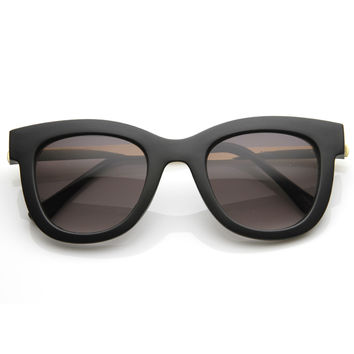 Designer Fashion Metal Arm Modern Sunglasses 8690