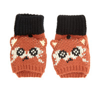 Fox Fingerless Mittens