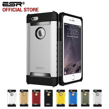 Case for iphone 6s 6 Plus, ESR Rugged Cover Case Tri-Layer Shock Absorbing Case Armor Strong Protective case for iphone 6P 6s