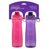 Portable Beverage Bottle Pogo Pink Purple