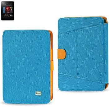 Magnetic closure case Amazon Kindle Fire HD 7 inch BLUE