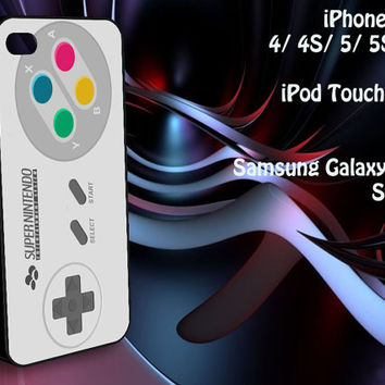 Super Nintendo Controller iPhone 4/4S / 5/ 5s/ 5c case, iPod Touch 4 / 5 case, Samsung Galaxy S3/ S4 case