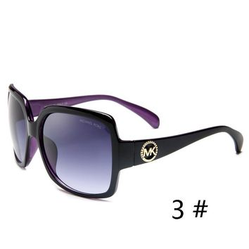 MK Michael Kors New Fashion Women Man Casual Leopard Print Sun Shades Eyeglasses Glasses