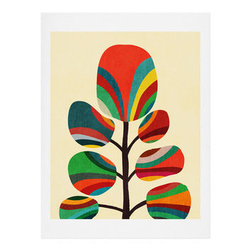 Budi Kwan Whimsical Colorful Tree Art Print