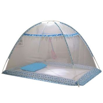 Folding Mosquito Netting Baby Crib Tent Cradle Bed Canopy Infant Tent Mosquito Net Mosquiteiros Infantis Size S/L