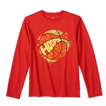 Tek Gear Basketball Graphic Tee - Boys 8-20, Size: