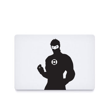 Green Lantern-----Macbook Decal Macbook Sticker Mac Decal Mac Sticker Decal for Apple Laptop Macbook Pro / Macbook Air / iPad/MINI