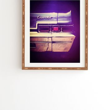 Ballack Art House 1966 Chev Framed Wall Art