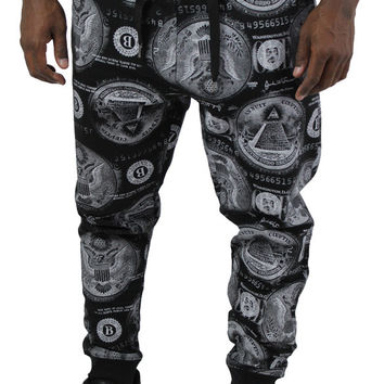 Switch Money Currency Men's Joggers Jogging Sweatpants