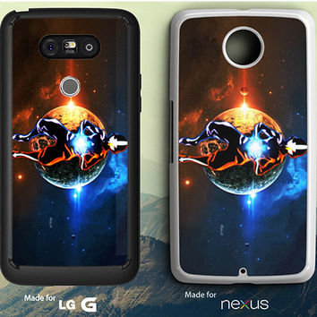 Avatar Last Airbender Street Level LG G3 | G4 | G5 Case, Nexus 5 | 6 Case