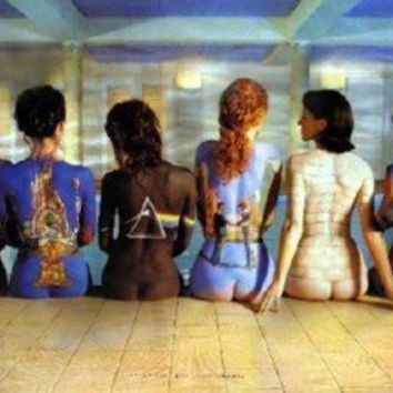 Pink Floyd Backs poster Metal Sign Wall Art 8in x 12in