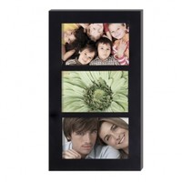 Adeco 3-Opening Collage Picture Frame