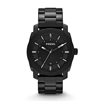 Fossil machine stainless watch