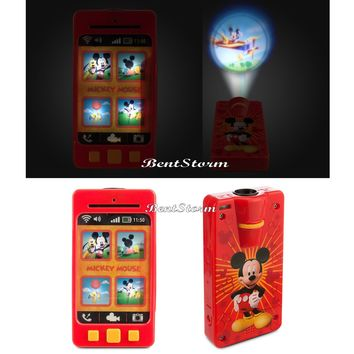 Licensed cool Mickey Mouse Talking Light Up Toy Pretend Camera Projector Images Disney Store