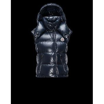 Moncler Down Ghany Hooded Vest