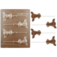 Baby Deer Head Lollipop Chocolate Mold