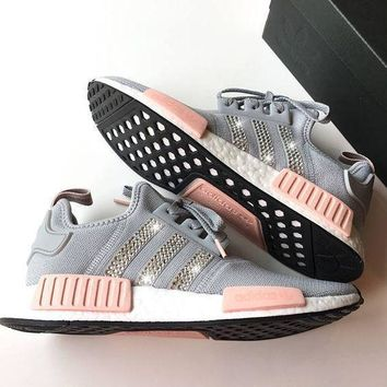 Adidas NMD NMD_R1 W Glittering Breathable Running Sports Shoes Sneakers-3