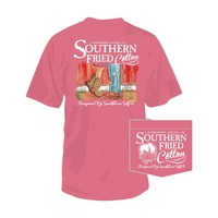 Palmetto Moon | Southern Fried Cotton First Kiss T-shirt | Palmetto Moon