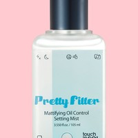Touch In Sol Pretty Filter Mattifying Oil Control Setting Mist | Nordstrom