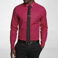 FITTED 1MX FRENCH CUFF SHIRT