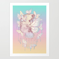 Becoming Art Print by Norman Duenas