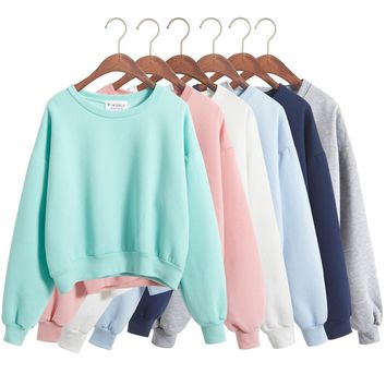 Cotton Candy Pastel Sweatshirts