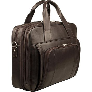 Compatible Leather Work Bag