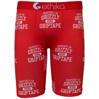 Ethika Men's Grizzly Throwback The Staple Fit Boxer Briefs Underwear