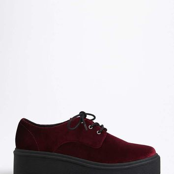Velvet Platform Oxfords