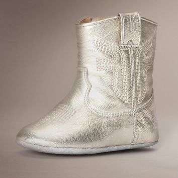 Gold Rodeo Bootie by TheFryeCompany,