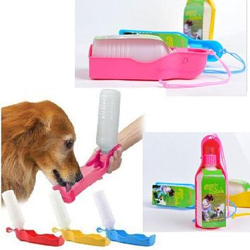 Outdoor Portable Pet dog Water Bottles