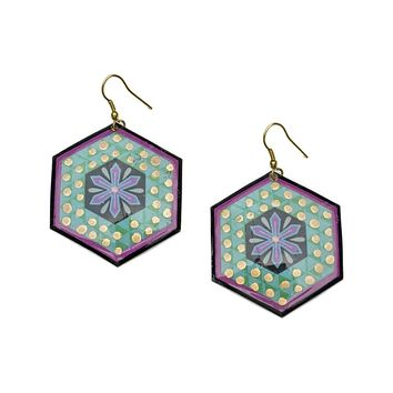 Bollywood Earrings - Tulsi - Matr Boomie (Jewelry)