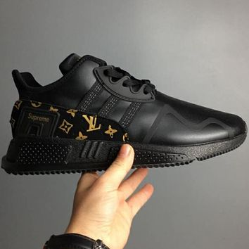 Adiasd clover EQT Cushion ADV LV Supreme joint limited edition casual running shoes F-CSXY