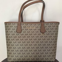 Michael Kors Reversible Tote Signature Canvas MK