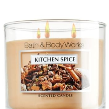 14.5 oz. 3-Wick Candle Kitchen Spice