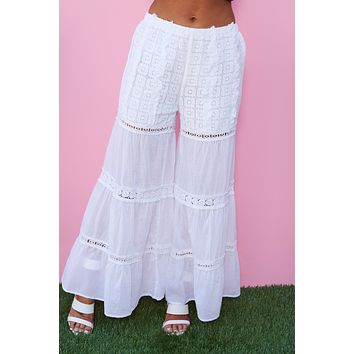 Simple As That Pants (White)