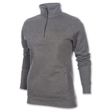 Women's Colosseum Oregon Ducks College Quarter Zip Pullover