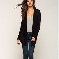 Fashion Patch Falbala Cardigan Coat