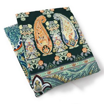 Tache 2 Piece Paisley Monarch Luxurious Floral Pillow Covers (TA2814-PC)
