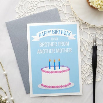 Birthday Card For Brother In Law Best Friend Guy From