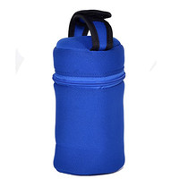 Baby Bottle Tote Bag-This Blue Thermal Bottle Carrier Keeps Your Infant's Bottles Warm And Cool -This Insulated Bottle Tote Bags Fits All Brands