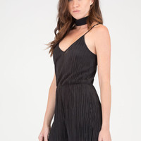 Say The Magic Word Pleated Romper GoJane.com
