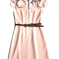 Pastel Pink Couture Flower Dress  by MischaLove on Sense of Fashion