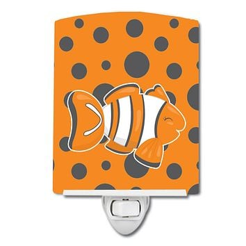 Fish Clown Fish Ceramic Night Light BB8951CNL