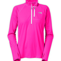 The North Face Women's New Arrivals Shirts & Tops WOMEN'S IMPULSE ACTIVE 1/4 ZIP