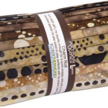 Concerto Batiks Charm Roll, Concerto Charm Roll, Batiks Fabric, Charm Roll Fabric, Batiks, Polka Dot Fabric, Black and White Fabric, Quilts