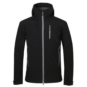 Men's Winter Softshell Fleece Jackets Outdoor Sportswear Coat Hiking Trekking Camping Skiing Male Windbreaker VA188