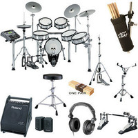 Roland TD-20SX Value Bundle - Electronic Drums Package B&H Photo