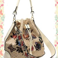 Butterflies and Bees Bag